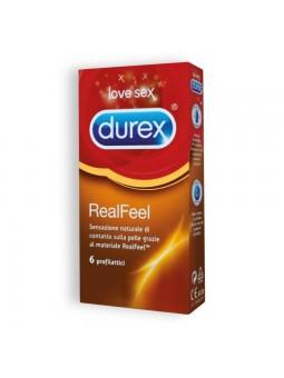 REAL FEEL DUREX CONDOMS 6...