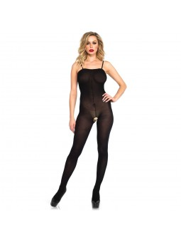 OPAQUE BODYSTOCKING WITH...