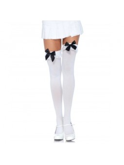 WHITE THIGH HIGHS WITH...