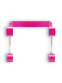 BAD ROMANCE BONDAGE BELT PINK