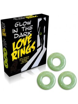 GLOW IN THE DARK LOVE RINGS...