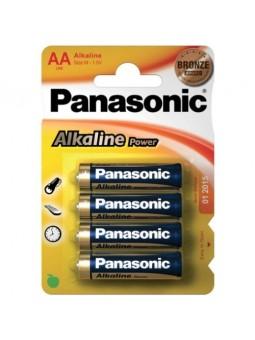 4 AA ALKALINE PANASONIC...