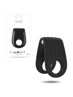 OVO B12 DOUBLE PENIS RING...