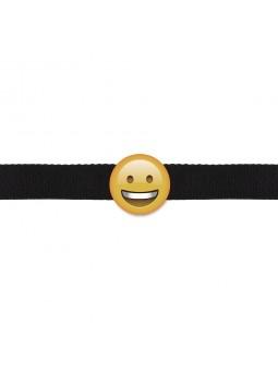 SMILEY EMOGAG BALL GAG